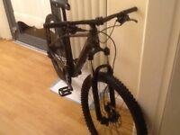 Cube c mt mountain bike