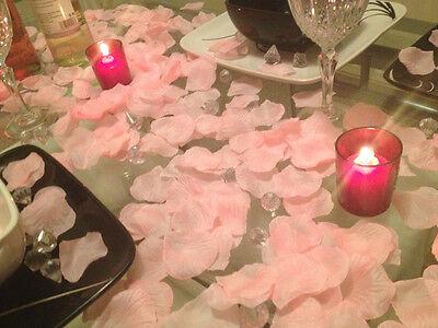 Light Pink Rose Petals Wedding Day / Gift Basket Decoration. 250 Petals x