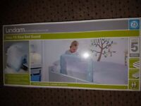 Lindam Easy Fit Bed Guard - Blue BRAND NEW IN BOX