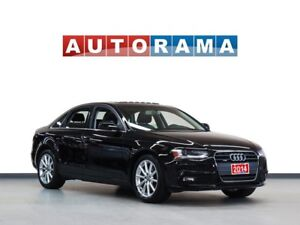 2014 Audi A4 NAVIGATION LEATHER SUNROOF 4WD