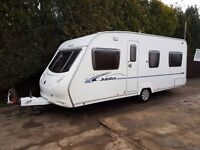 Ace Jubilee Aristocrat Caravan 2008 FIXED BED VGC, Awning, Great Family Layout !