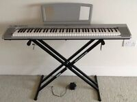 Yamaha NP30 Keyboard - Keyboard Stand - Music Rest - Only £160