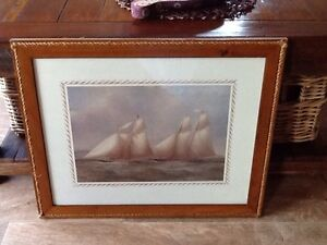 2sailing ships prints The Aurora and The America $15 each Charmhaven Wyong Area Preview