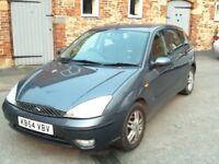 Ford Focus Zetec 1.8 petrol 2005
