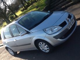 2007 RENAULT SCENIC 1.5 DCI DYNAMIQUE WITH PAN ROOF AND 12 MONTHS WARRANTY INCLUDED