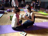 Childrens Yoga Sitter