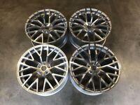 "18 19 20"" Inch Audi R8 V10 style wheels A3 A4 A5 A6 A7 A8 Caddy Van Seat Leon Skoda 5x112"