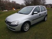 Vauxhall Corsa 1.2 16v ELEGANCE LONG MOT (with no advisories) Excellent first car Manual