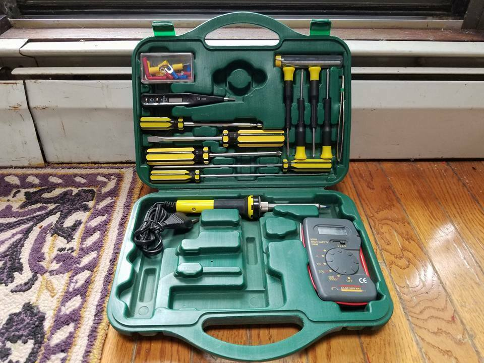 Electronic Tool Set Electrician Kit Electrical tools Service