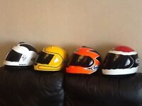 Arai Replica racer helmets collection