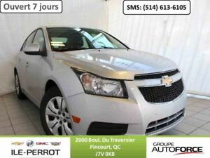 2014 CHEVROLET CRUZE LT, TURBO, BLUETOOTH, DEM. DIST.