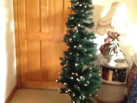 Fibre optic Christmas tree, 6 ft