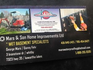 Wet basement? Winter special !! Save u $$$ Kawartha Lakes Peterborough Area image 2