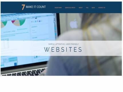 7 Make it Count Websites, Maintenance and Blogging