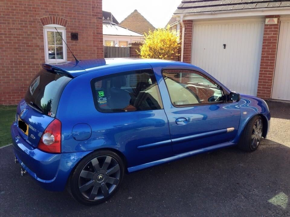for sale renault clio sport 182 2 0 ono in rudheath cheshire gumtree. Black Bedroom Furniture Sets. Home Design Ideas