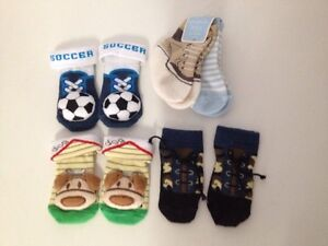 Baby booties 0-6 months (all for $10) Beckenham Gosnells Area Preview