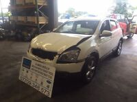 2008 Nissan qashqai parts breaking