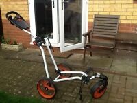 Golf trolley Icart Classic - used twice. As new.