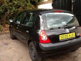 Renault Clio 11 months mot 2005