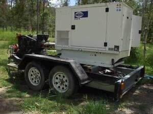 22Kva FG Wilson Genset with 150Litre petrol Air compressor Park Ridge Logan Area Preview