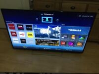 """Toshiba 55"""" smart led 3D WiFi freeview fullHD"""