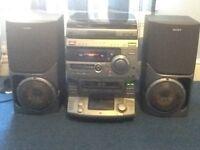 Sony Hifi and speakers