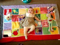 mamas and papas sensory play mat