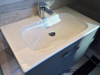 Keuco Royal Universe 80cm Truffle Vanity Unit & Basin