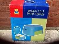 Baby 3 in 1 toilet trainer.