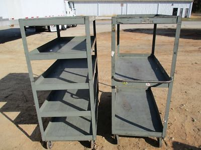Metal Shelving Carts