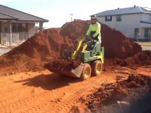 Mini Bobcat *MR MAKEOVER* Excavation - Retainers - Yard Drainage