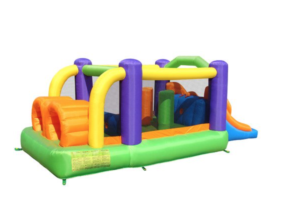 bounce house inflatable bouncer obstacle pro racer