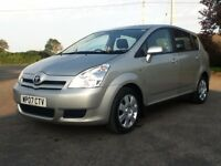 *!*7 SEATER*!* 2007 Toyota Corolla Verso 1.6 VVT-i T2 **MOT'd 19th JUNE 2017** **HPI CLEAR**