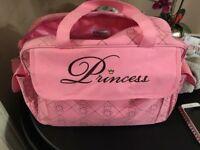 Princess changing bag