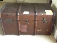 Traditional colonial style trunk