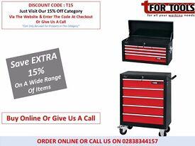 Draper Combo 6 Drawer Top Box & 5 Drawer Roller Cabinet