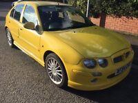 2004 MG ZR 1.4 5 door yellow Full Mot