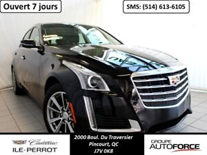 2017 CADILLAC CTS SEDAN AWD, NAVI, TOIT, GRP. LUXURY
