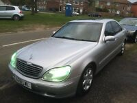 QUICK SALE !!!!MERCEDES S320 CDI BARGAIN!!!! 1699
