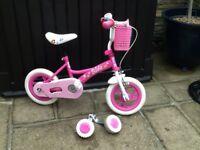 Girls bike 3/5 year age