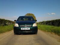 Toyota Yaris 1.o for sale ,cheap to insure and to run