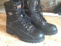 Harley division biker boots
