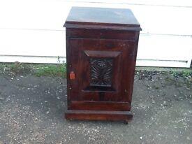 Solid Hardwood Bedside Cabinet