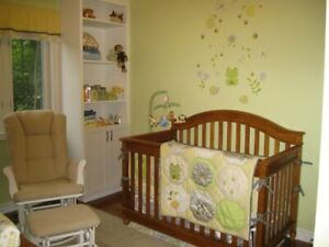 Convertible Crib / Double Bed
