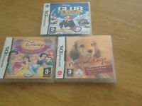 3Nintendo DS DSI games