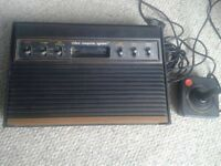 Atari 2600 console and remote only