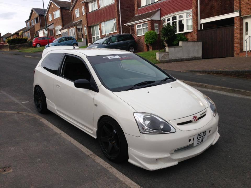 honda civic type r championship white ep3 good spec. Black Bedroom Furniture Sets. Home Design Ideas