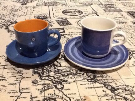 Two Tea Cups-one made in Italy