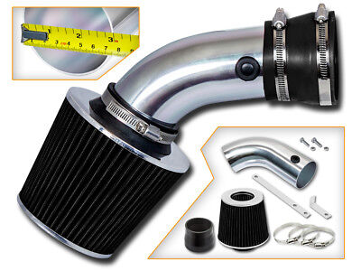 High Performance Parts Short Ram Air Intake Kit /& Red Filter Combo Compatible for 1997-2006 Jeep Wrangler 2.5L L4 4.0L V6 Engine