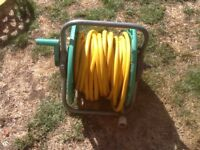 WATER HOSE AND REEL